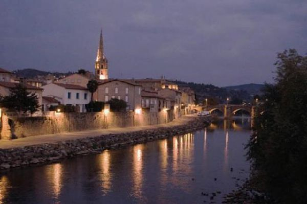Limoux by night
